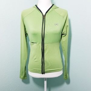 Under Armour Green Full Zip Hoodie Size Small